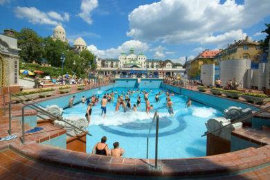 Közel jártak a rekordforgalomhoz a budapesti gyógyfürdők