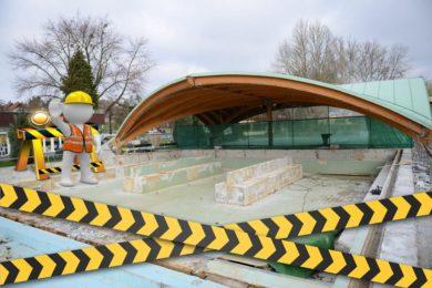 Igali Termálfürdő: felújítják az egyik gyógyvizes medencét