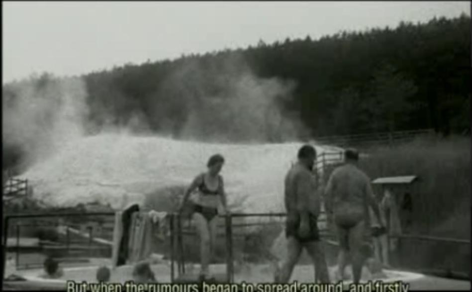 Egerszalók fürdő régen