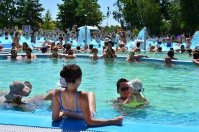 Rákaptak a vendégek a 45 éves dunaszerdahelyi fürdőre