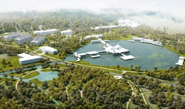 Ilyen lehetne 2030-ban a Hévízi-tó és környéke