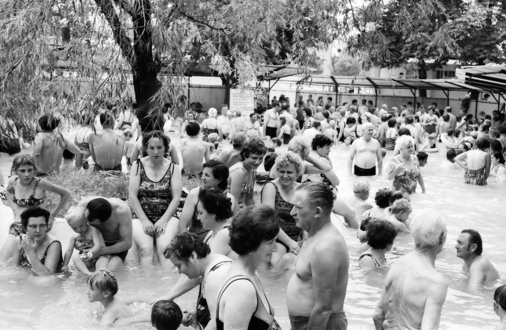 Komáromi termálfürdő 1979