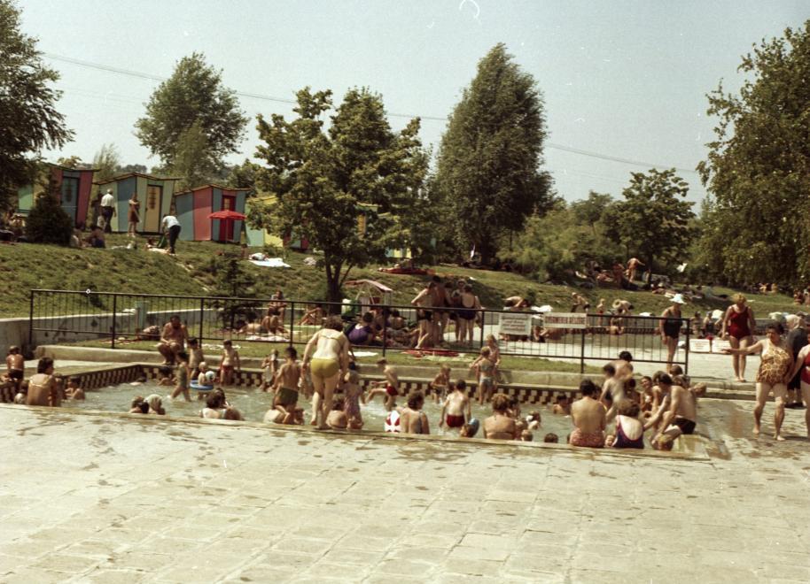 Zalakarosi termálfürdő 1971