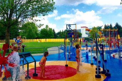 Vízi játszótér nyílt Bükfürdőn