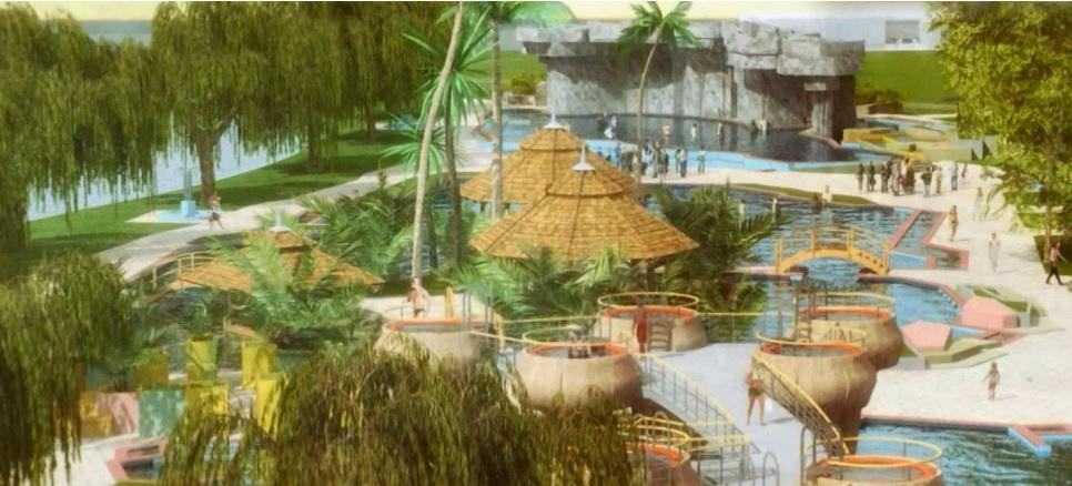 Hungarospa Tahiti Beach