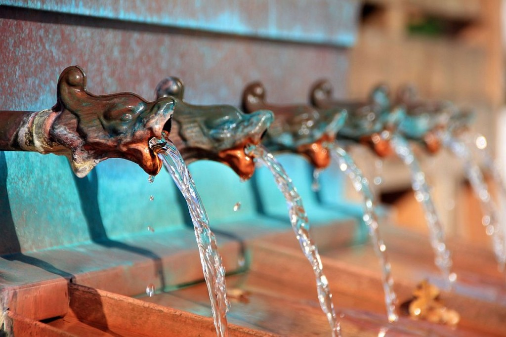 gyógyvíz ivókút