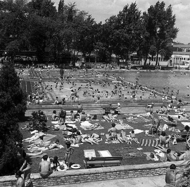 Palatinus Strandfürdő retró