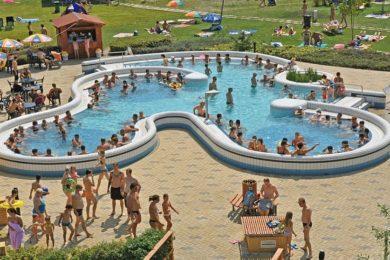 Fejlesztések a Veszprém megyei termálfürdőben