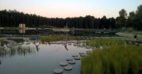 A zalakarosi termáltó első nyara