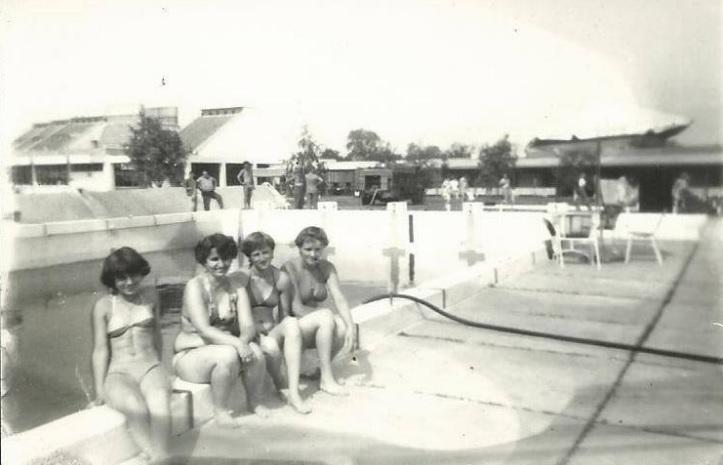 Tiszakécske fürdő régen