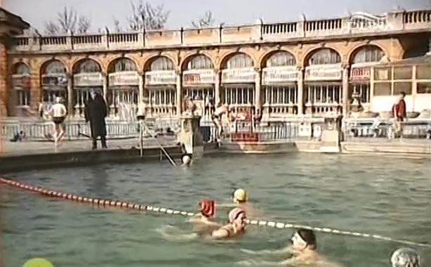 Széchenyi fürdő 1988