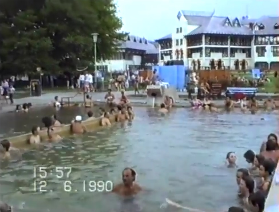 Egri termálfürdő 1990