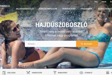 Díjazták Hajdúszoboszló honlapját
