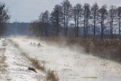 Virtuális légkondi: ilyen volt a téli Hévíz