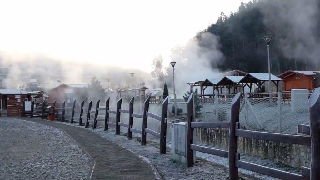 Egerszalók Nosztalgia Strand télen