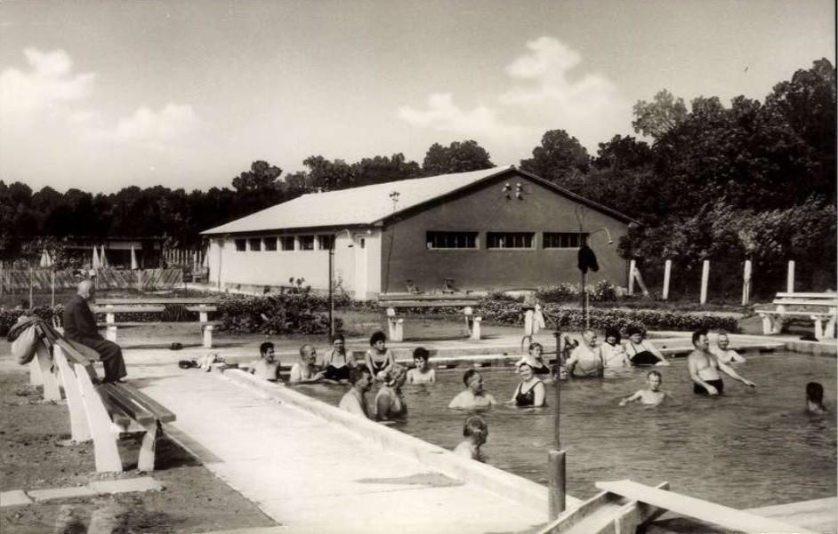 Igali fürdő a 60-as években
