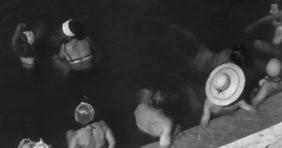 1957-es felvételek a hajdúszoboszlói gyógyfürdőről