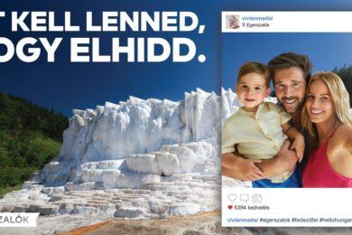 Egerszalókkal reklámozzák a belföldi turizmust