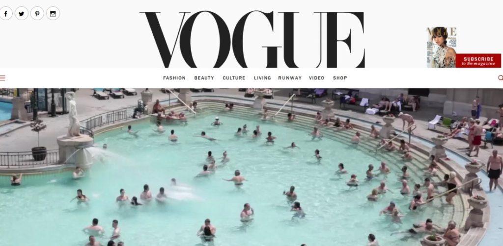 Vogue Széchenyi fürdő