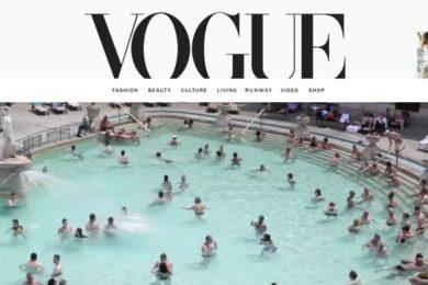 Képriportot közölt a Vogue a budapesti fürdőkről