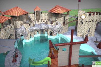 Sárkányvár Sárváron: gyerekbarát fejlesztés a fürdőben