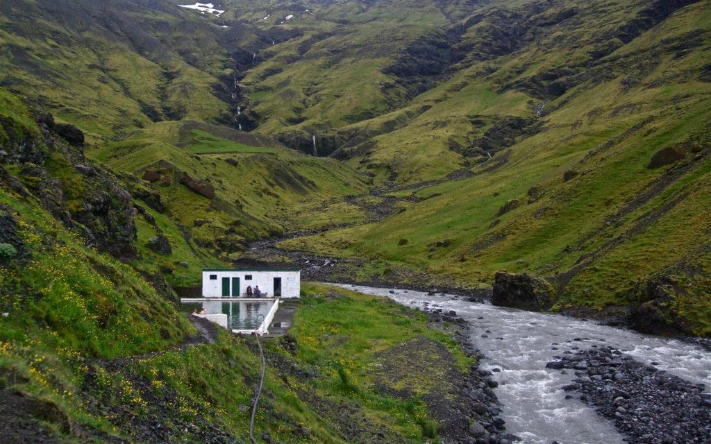Seljavallalaug termálfürdő Izland