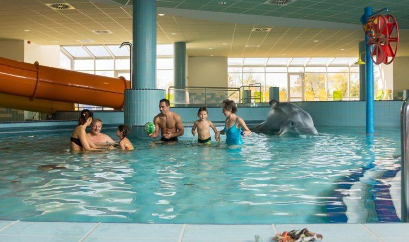 Gyerekekkel is jó választás az Aqua-Palace élményfürdő