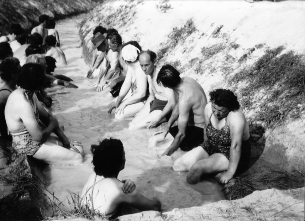 Bükfürdő 1961 árokfürdő