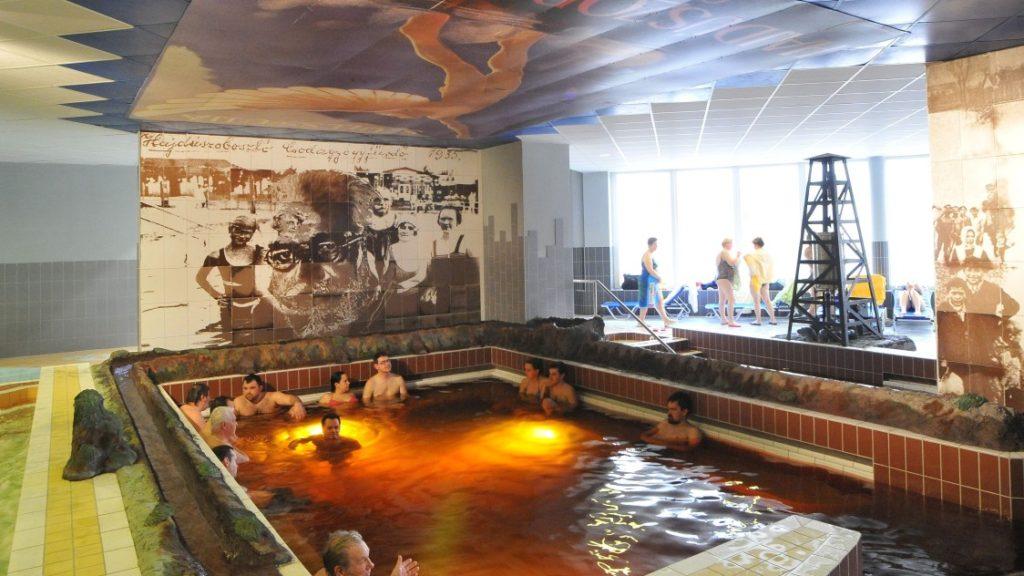 Hajdúszoboszló Aqua-Palace Pávai medence
