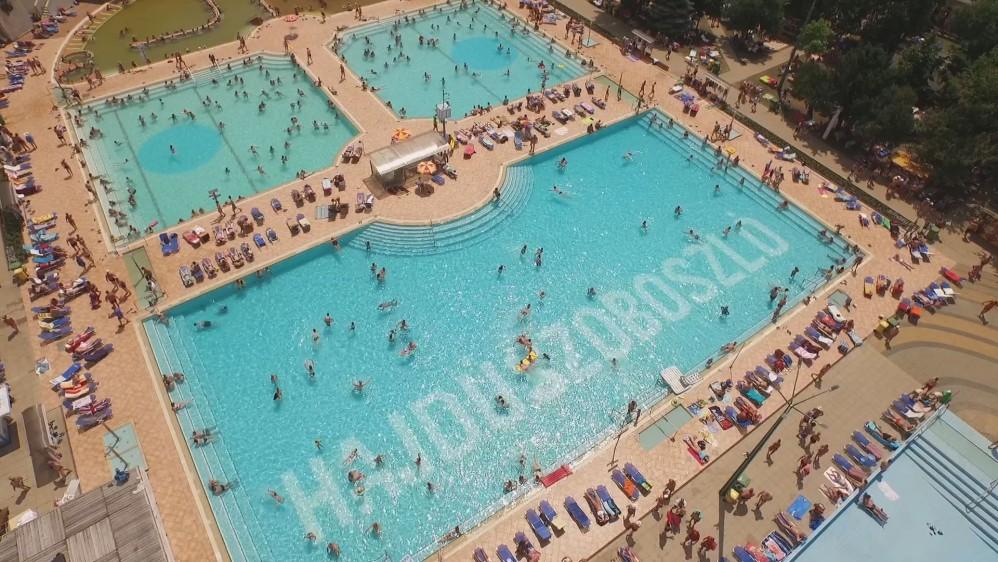Hajdúszoboszló Hungarospa medence