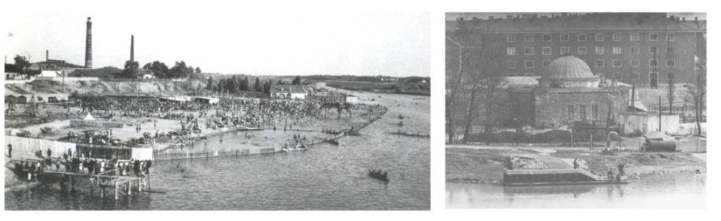 Pesterzsébet strandfürdő régen