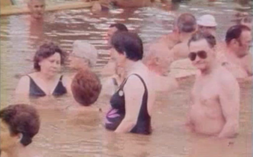 Bükfürdő termálfürdő 1989-ben