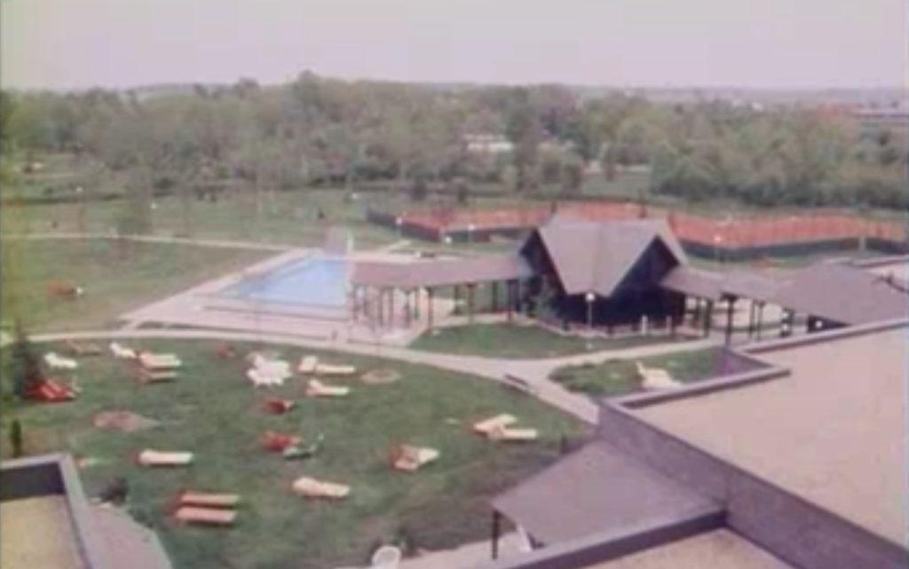 Bükfürdő látkép 1989