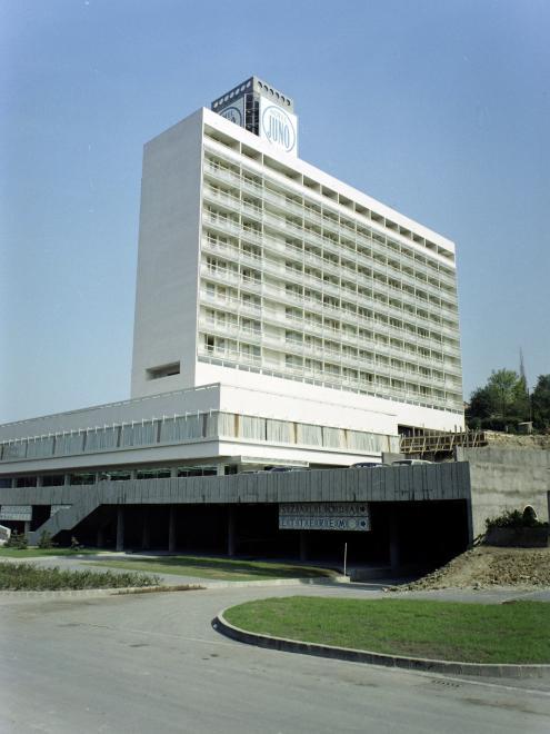 Hotel Juno Miskolctapolca 1973
