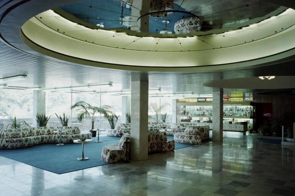 Hotel Juno Miskolctapolca 1974