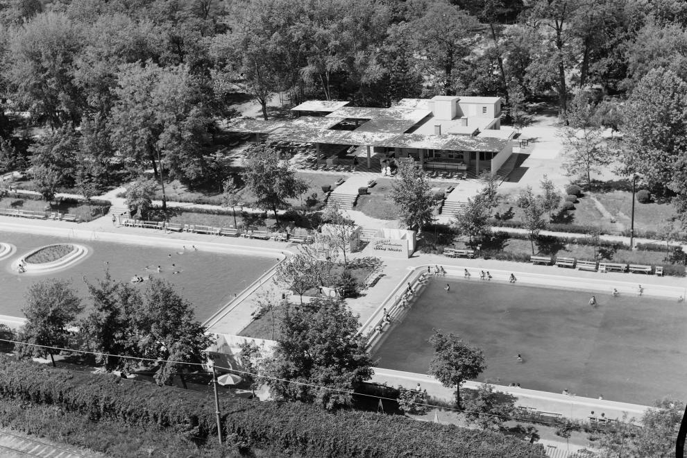 Nagyerdei Strandfürdő 1963-ban Debrecen
