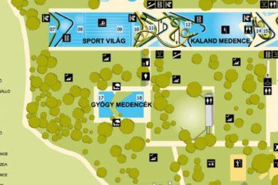 Újabb részletek az Aquaticum Strandfürdő felújításáról