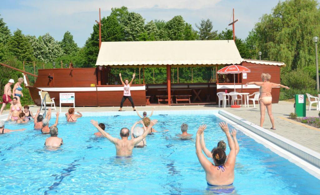 Gyula Hotel Hőforrás aquafitness
