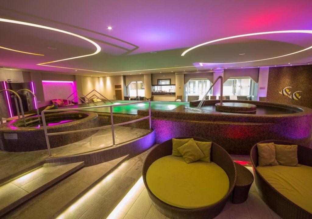 Hotel Délibáb wellness részleg