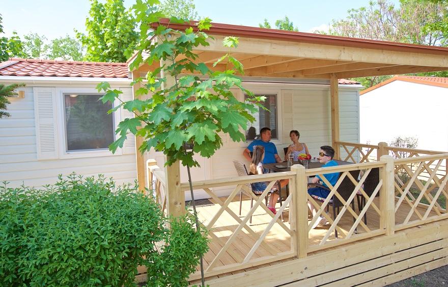 Hungarospa Camping mobilház