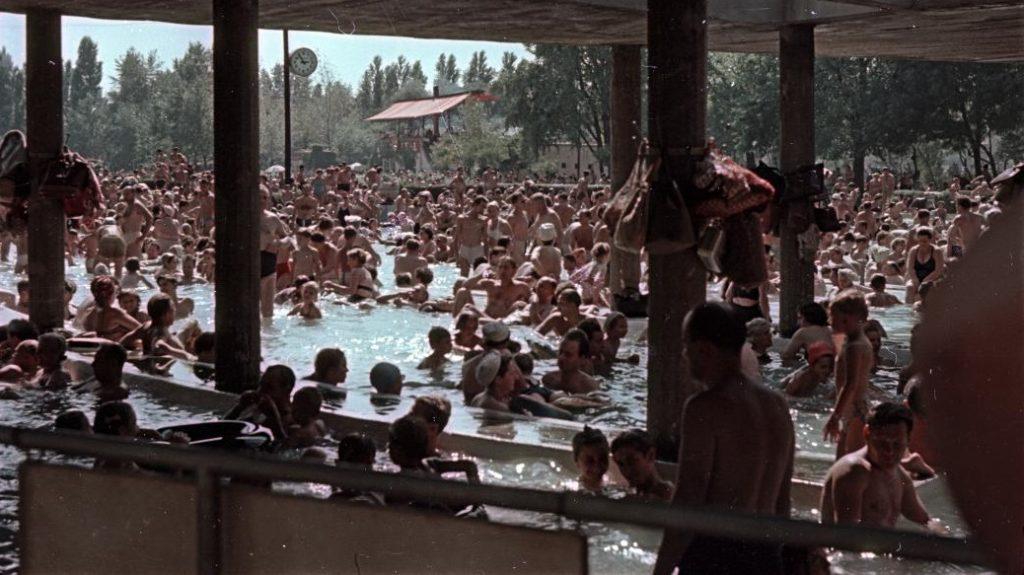 Palatinus Strand 1955-ben
