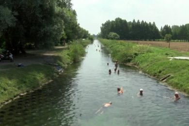 Sokan használják a hévízi szabadstrandot
