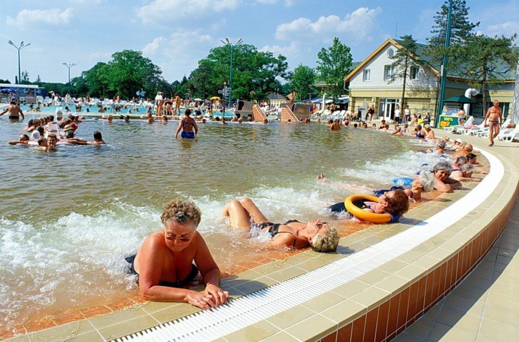 Hungarospa strandfürdő