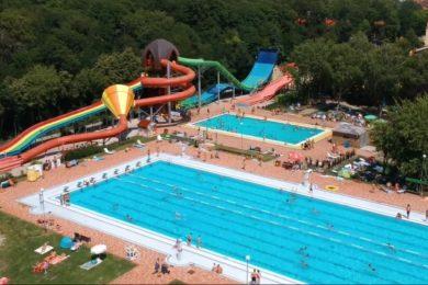 Fitneszparkkal bővült a nagymegyeri termálfürdő