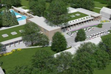 Újabb részletek a leányfalui fürdőfejlesztésről