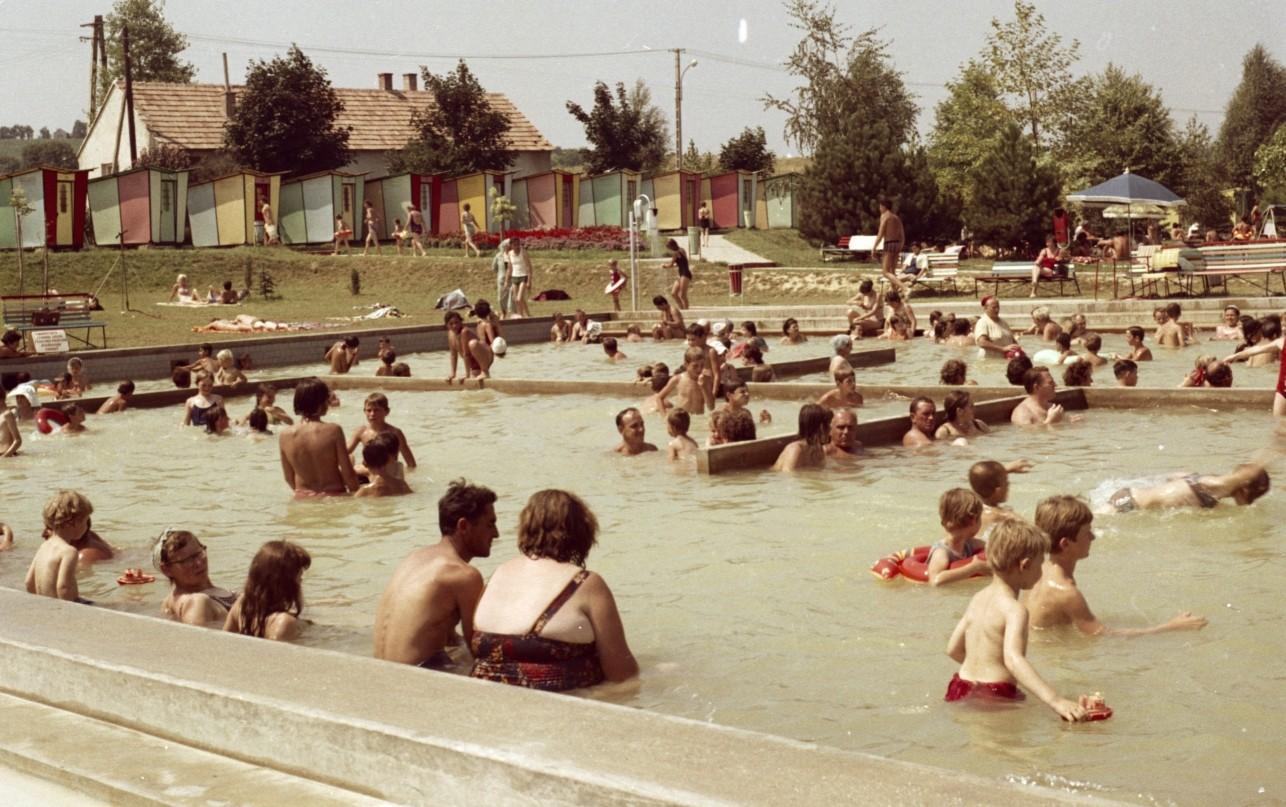 Zalakaros termálfürdő régen