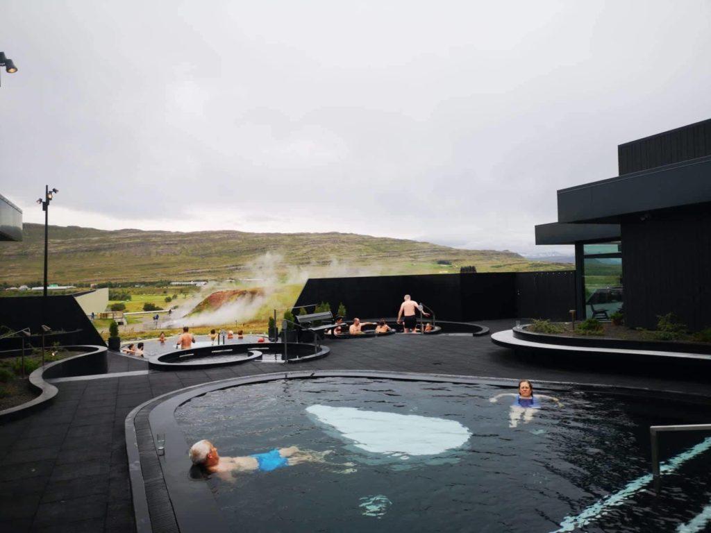 Krauma termálfürdő Izland