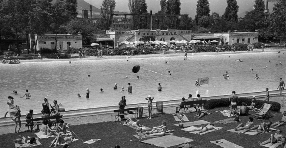 Palatinus Strandfürdő 1957