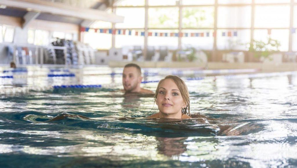 Lenti Termálfürdő úszómedence