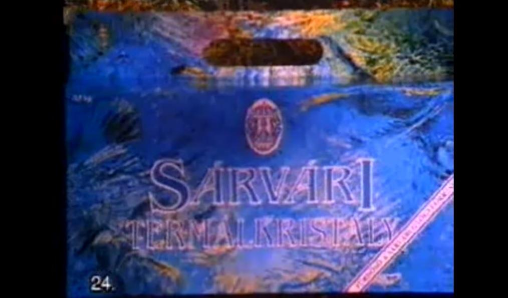Sárvári Termálkristály doboz